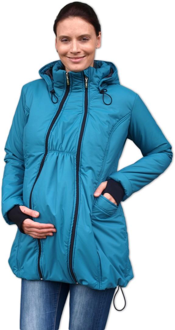 b0421aa271f9 ZORA- zimní vyteplená bunda pro těhotné a nosící ženy (pro přední nošení)