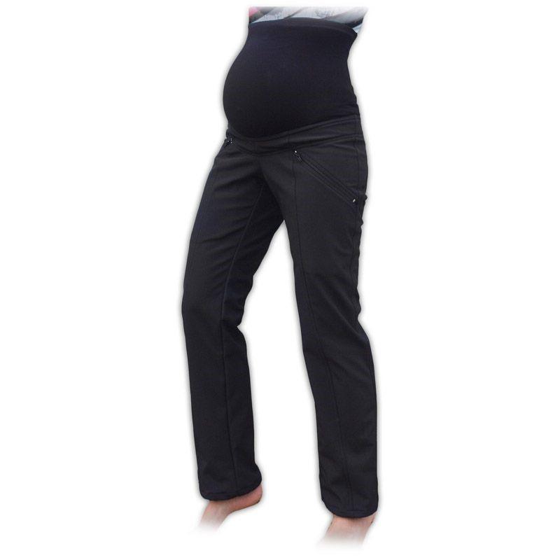 765333e5e38 těhotenské softshellové kalhoty sportovní zimní teplé